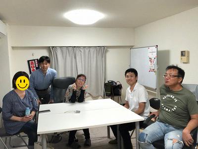 ▲セミナーに参加された会員様 (写真 収入ブログ始め方)